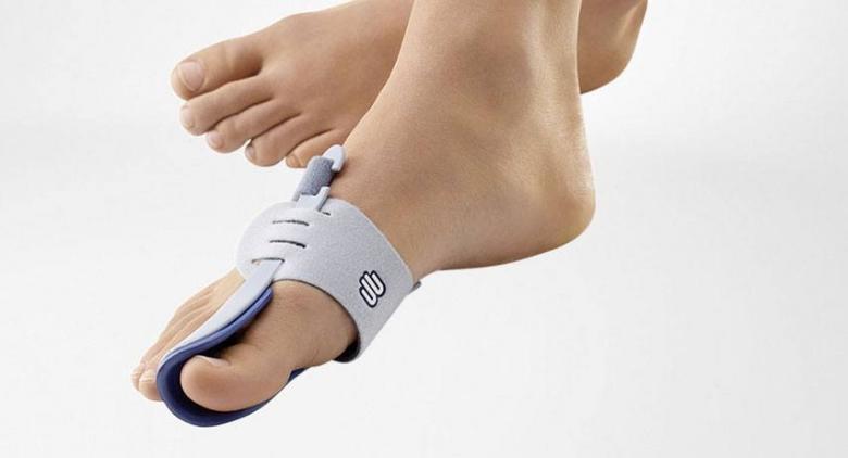 hielspoor pijn zijkant voet